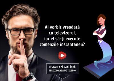 Tutorial comenzi vocale telecomanda smart TV