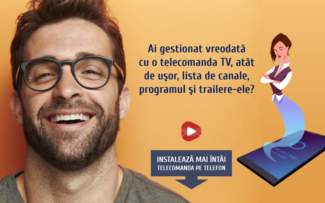 Tutorial gestionare canale telecomanda smart TV